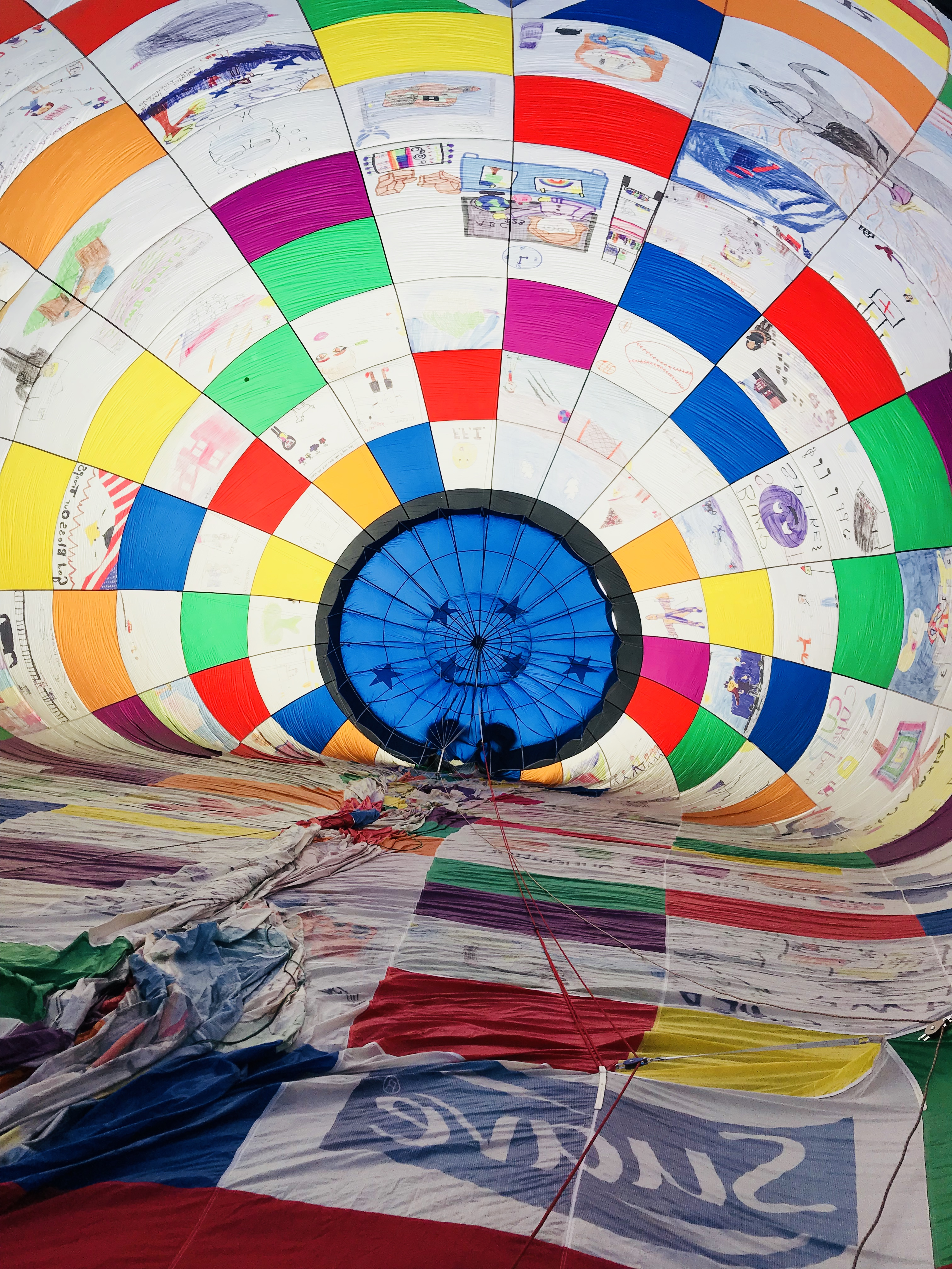 Honor Crewing the RiteAid KidScents DreamShip at the Hall of Fame Balloon Classic